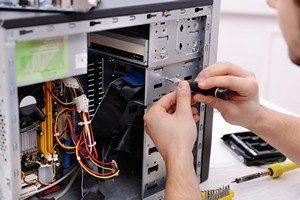 La réparation d'un ordinateur