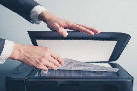 Scanne d'un document