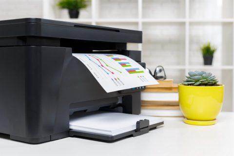 Imprimante couleur noir