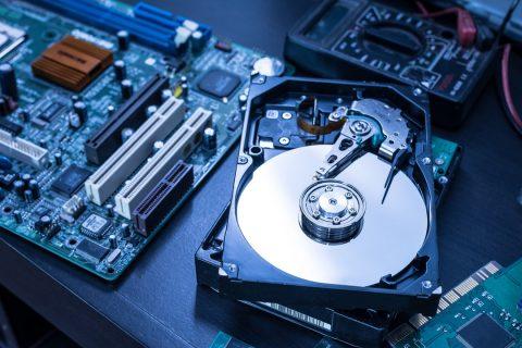 L'intérieur d'un ordinateur