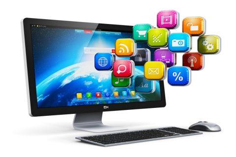 Icônes d'application sur PC