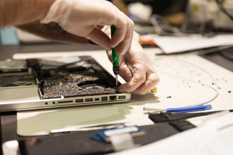 Réparation d'un ordinateur