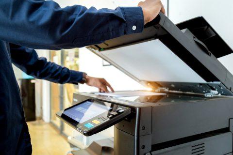 Une imprimante d'entreprise